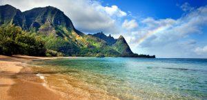 Hawaii, Kauai, Bali Hai, Tunnels Beach, Seascape
