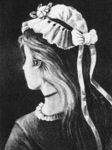 Ambiguous Optical Illusion - Young Girl or Old Woman?